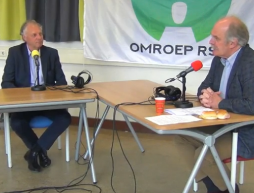 Interview ter gelegenheid van afscheid Roel Sluiter